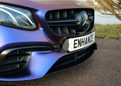 Enhance NE Mercedes Full Car Wrap