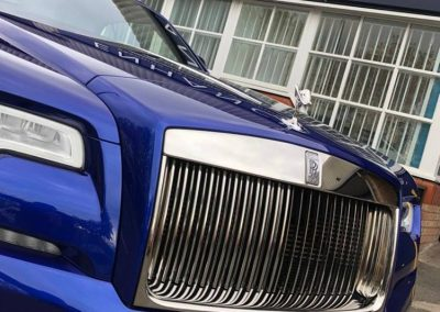 Rolls Royce Detailing Branding Wrapping North East Newcastle