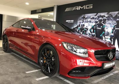 Mercedes AMG Stand PPF Detailing Wrapping V8 Enhance NE Ltd