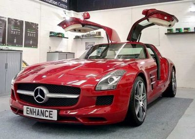 Merecedes Benz Paint Protection Film Fitting Newcastle North East PPF