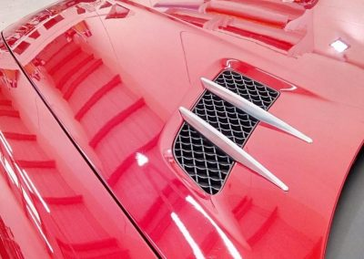 PPF Paint Protection Film Newcastle Enhance North East Bonnet Intakes