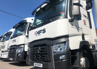 Enhance NFS Commercial vehicle branding North East Newcastle